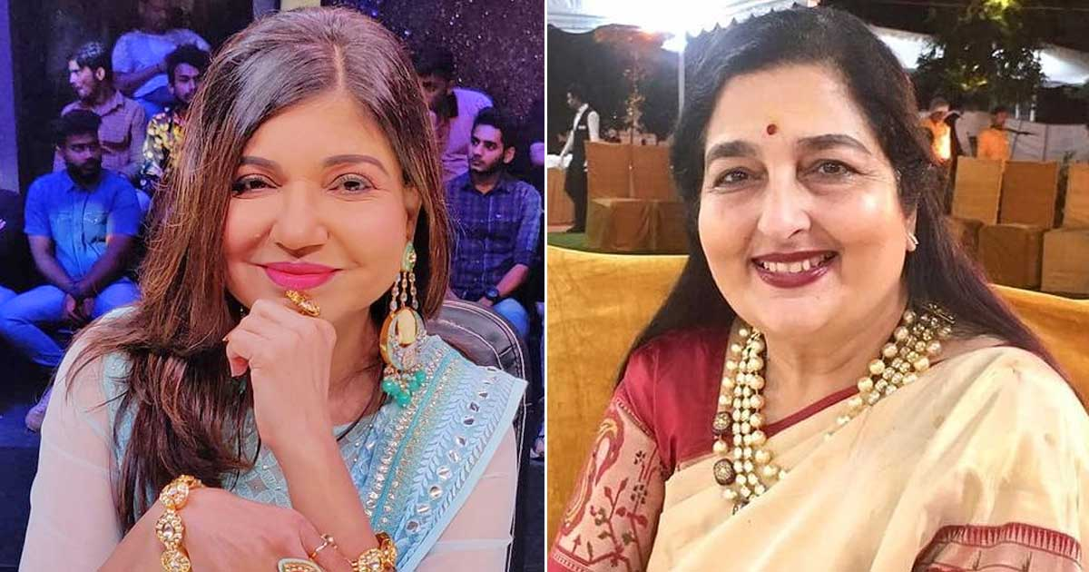 Alka Yagnik Once Lashed Out At Anuradha Paudwal For Dubbing Her Songs
