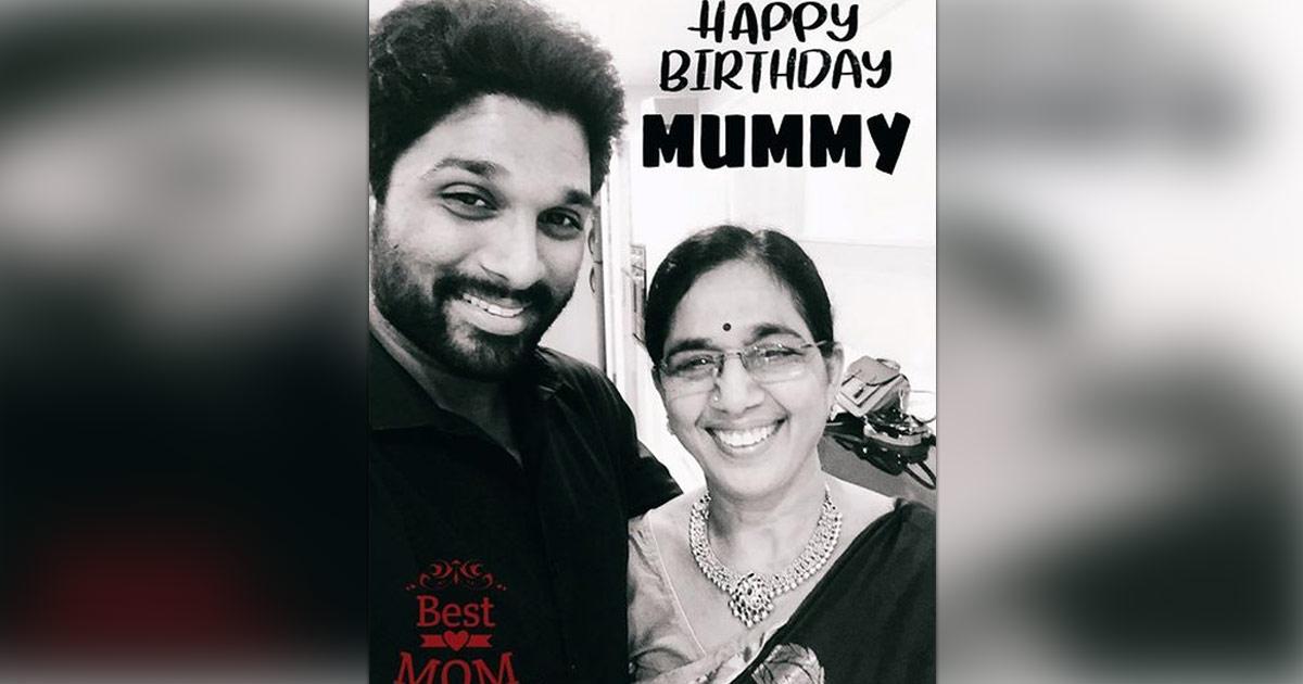 Allu Arjun wishes mother on her birthday