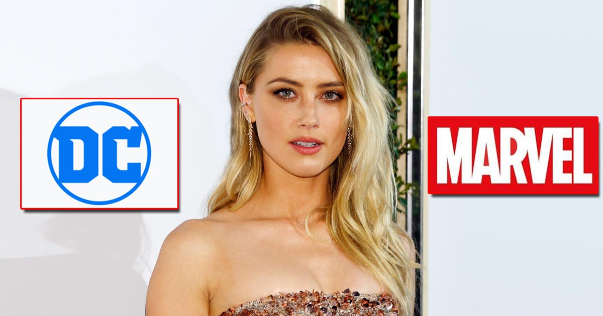 Amber Heard To Jump From DC To Marvel As She's Being 'Seriously Considered' For Its Next Mega Project?