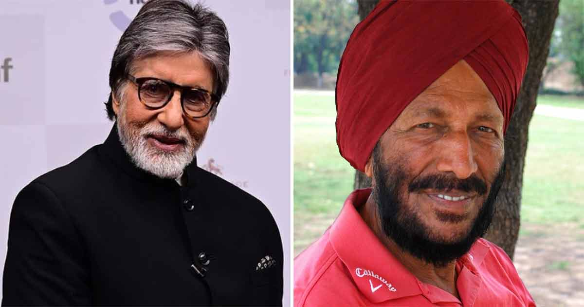 Amitabh Bachchan shares last page of Milkha Singh's book, calls it 'inspiration'