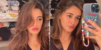 Ananya Panday is in caption dilemma