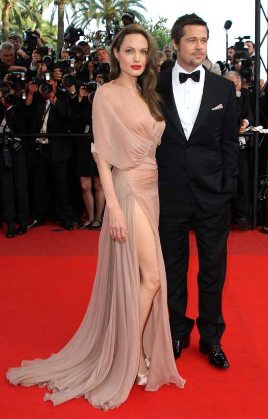 Angelina With Brad Pitt At Cannes Film Festival 2009