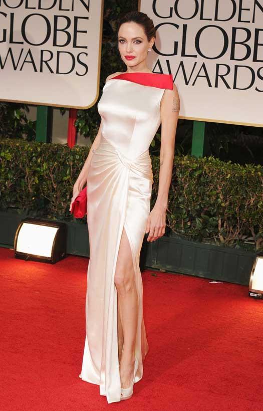 Angelina With A Classic Bun