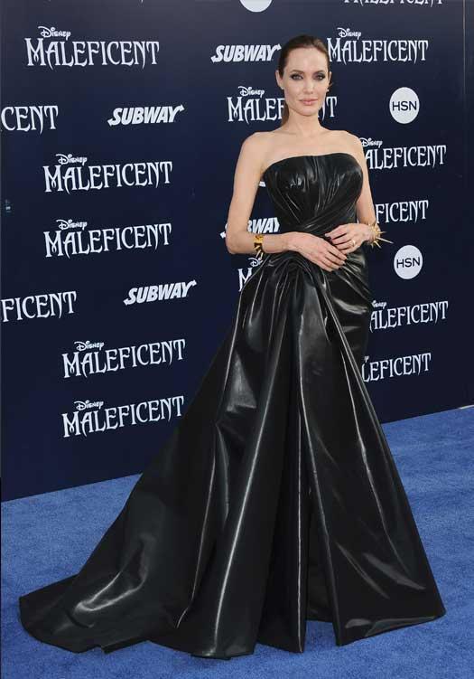 Angelina At Maleficent World Premiere