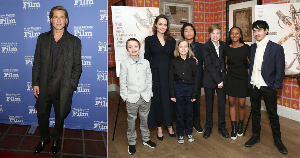 Angelina Jolie Looked As Radiant As Sunshine In A Yellow Flowy Dress For Her Birthday With Kids Post The Custody Battle With Brad Pitt