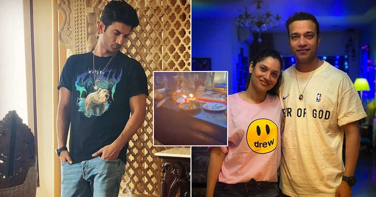 Ankita Lokhande Holds Havan At Home Ahead Of Sushant Singh Rajput Death Anniversary But SSR Fans Troll Her Over Picture With Vicky Jain!