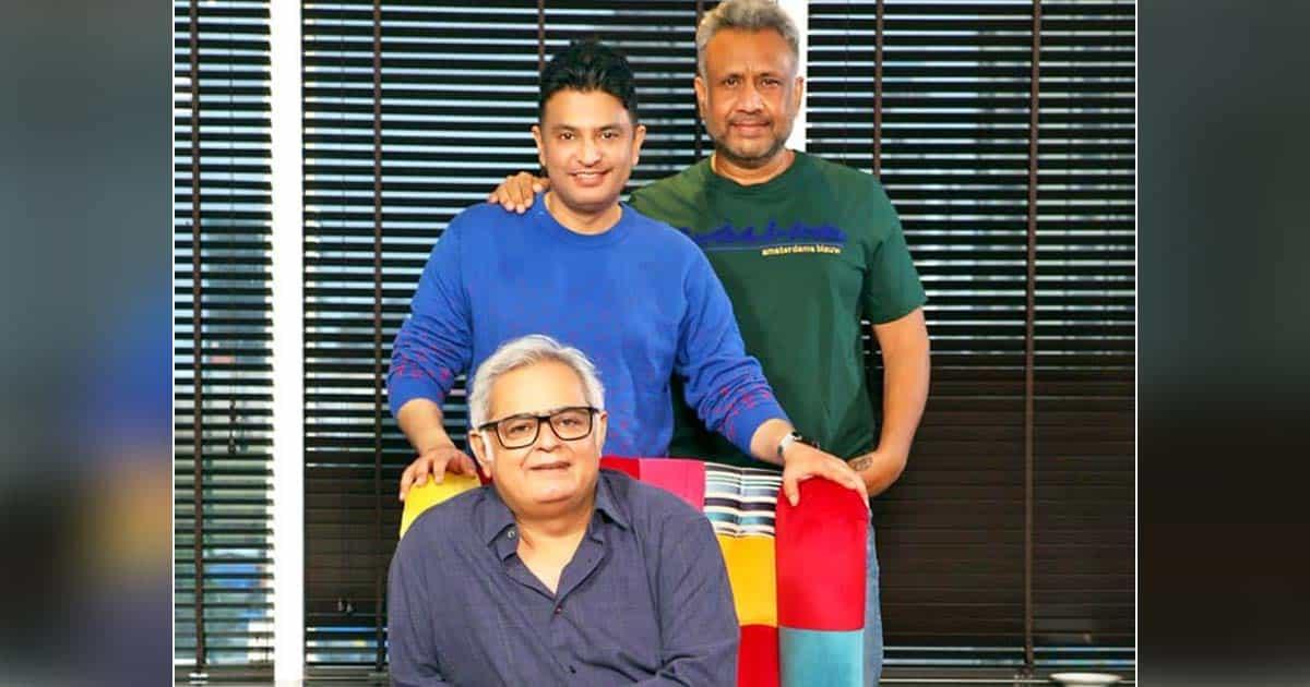 Scam 1992 Director Hansal Mehta Teams Up With Bhushan Kumar & Anubhav Sinha For An Action-Commercial Thriller