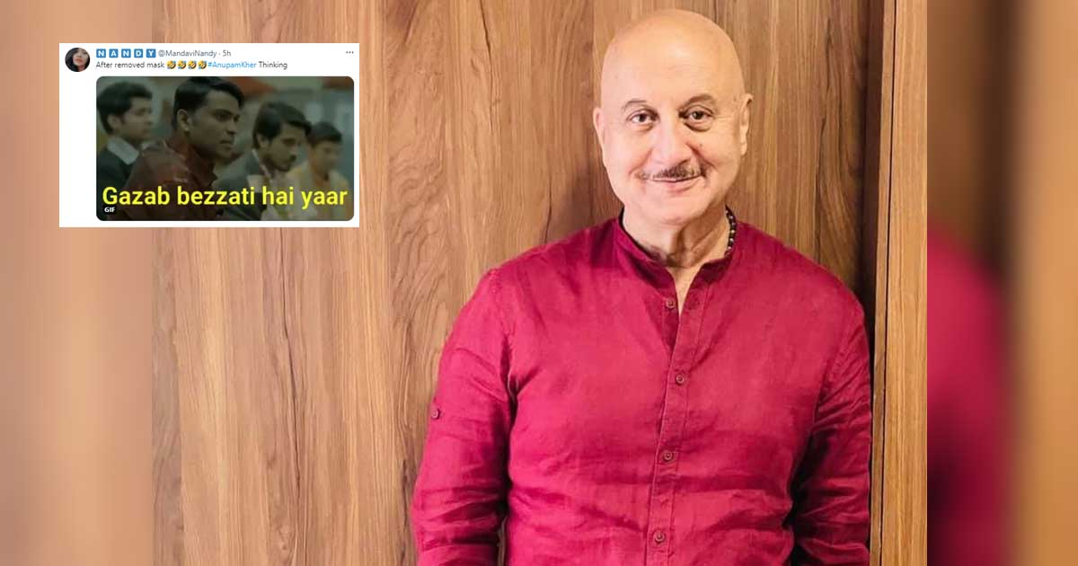 Anupam Kher Gives Rise To A Meme Fest On Twitter After A Himachali Local Fails To Recognise Him