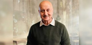 Anupam Kher interacts with police officers, staff in Shimla