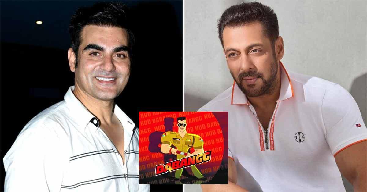 Arbaaz on why Salman's voice isn't used in 'Dabangg: The Animated Series' (Ld)