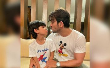 Arjun Bijlani misses son while shooting in Cape Town