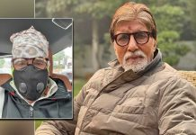 Big B back to work, for first day shoot after lockdown 2.0