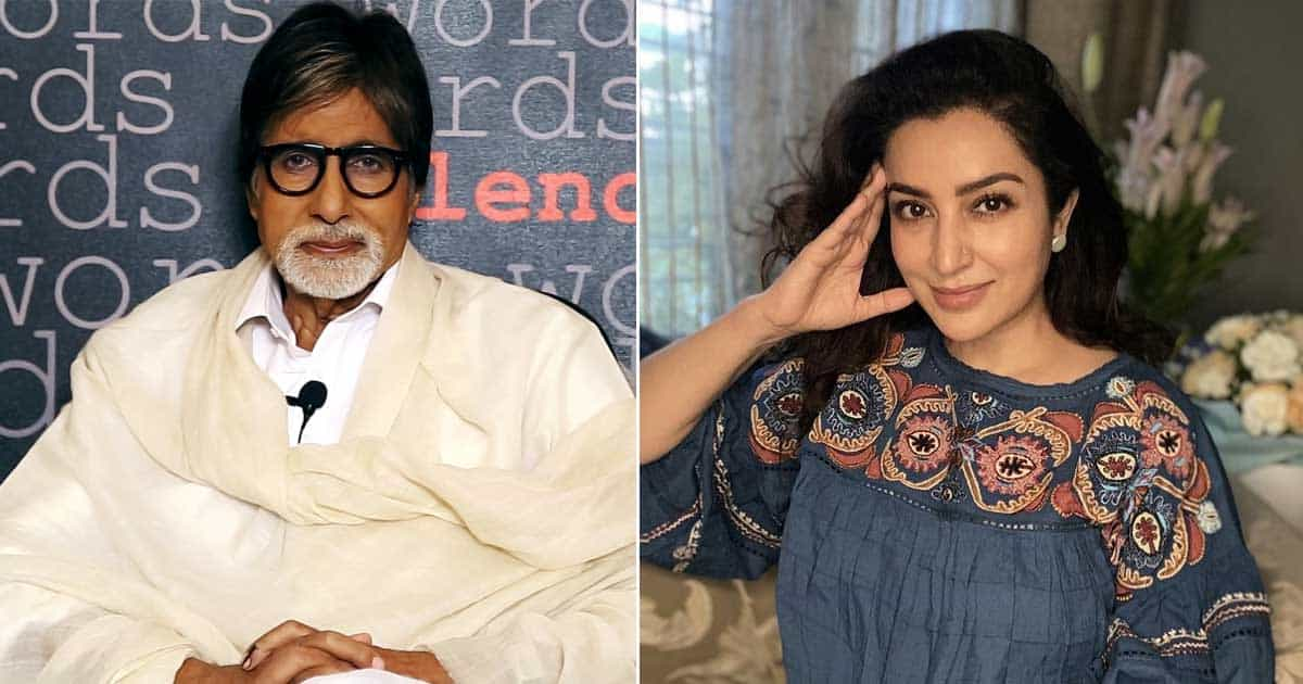 Tisca Chopra has received a letter of praise from Amitabh Bachchan!