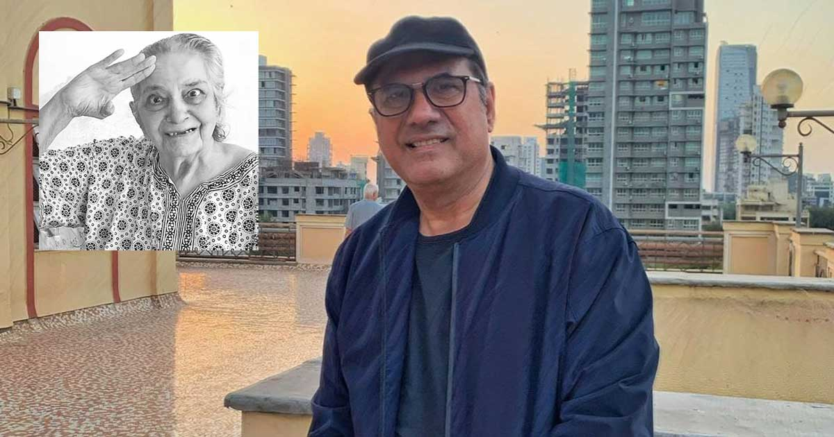 Boman Irani mourns the demise of his mother
