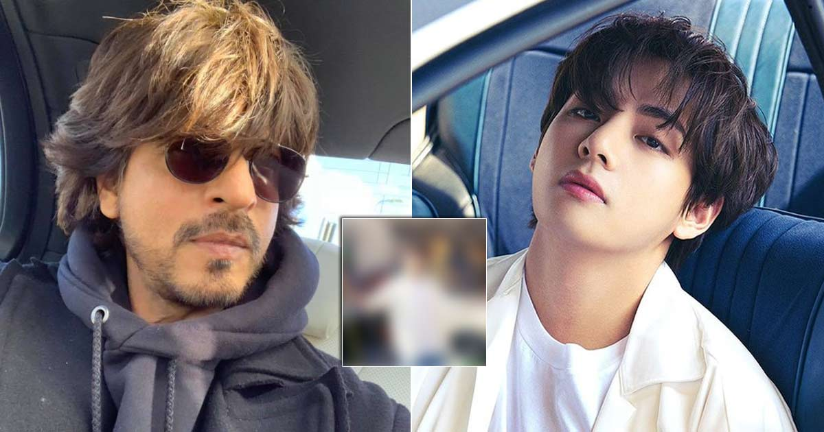 BTS' V Pulls Off Shah Rukh Khan's Iconic Pose In Butter Concept Photo & Netizens Can't Keep Calm