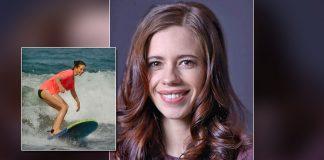 B'wood actress Kalki Koechlin misses surfing