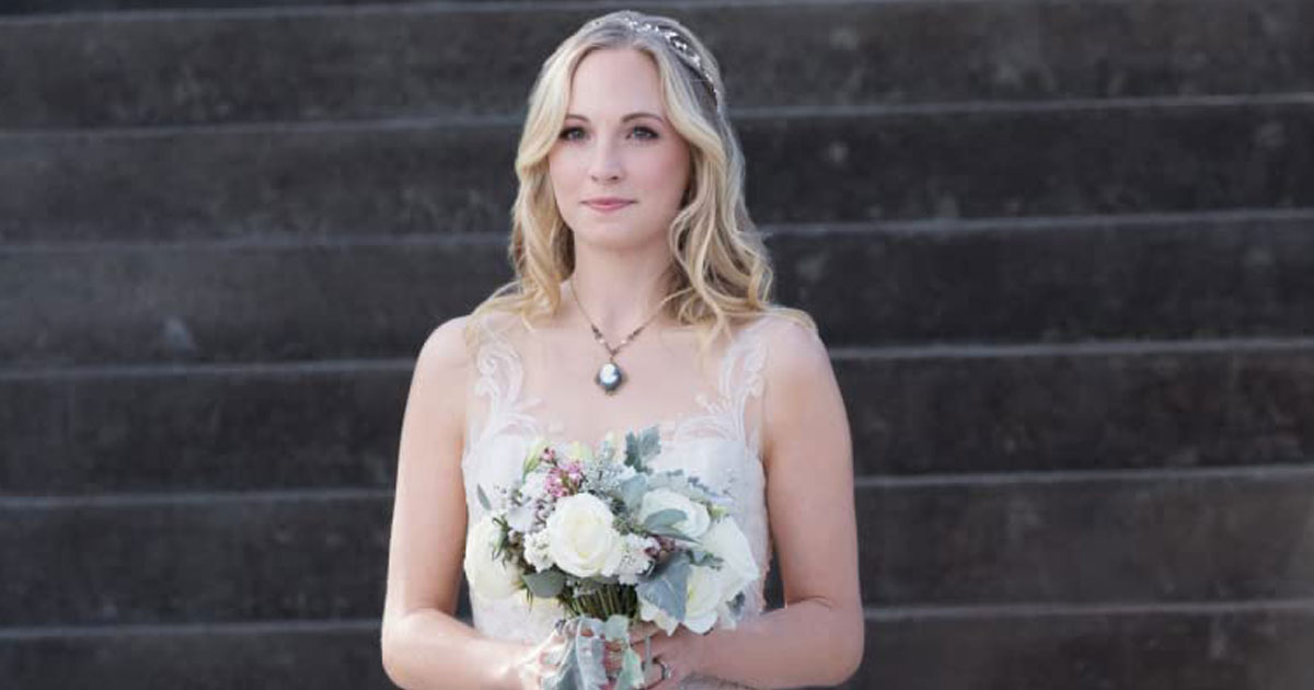 Candice King As Caroline Forbes In The Vampire Diaries