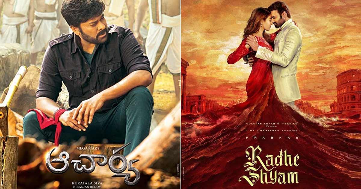 Prabhas' Radhe Shyam To Clash With Chiranjeevi & Ram Charan's Acharya At The Box Office? Deets Inside