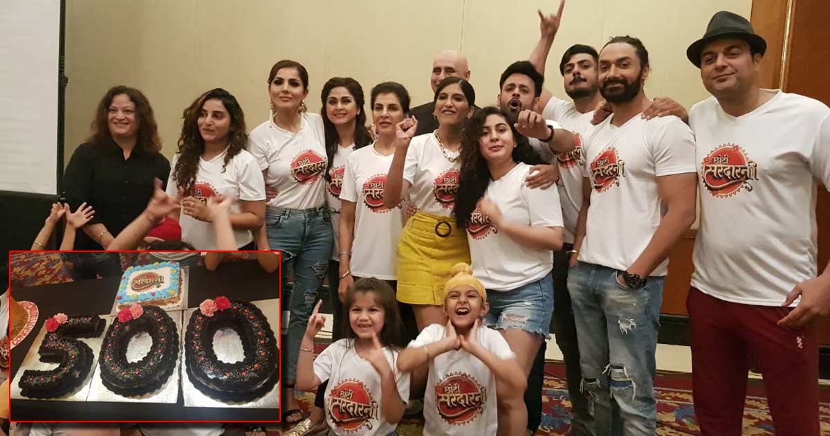 Choti Sarrdaarni Completes 500 Episodes! The Team Behind It Celebrates With Much Fanfare