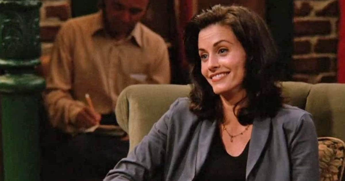 Courteney Cox As Monica Geller In Friends
