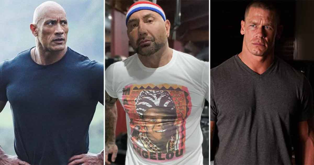 Dave Bautista Talks About Joining Hands With Dwayne Johnson & John Cena