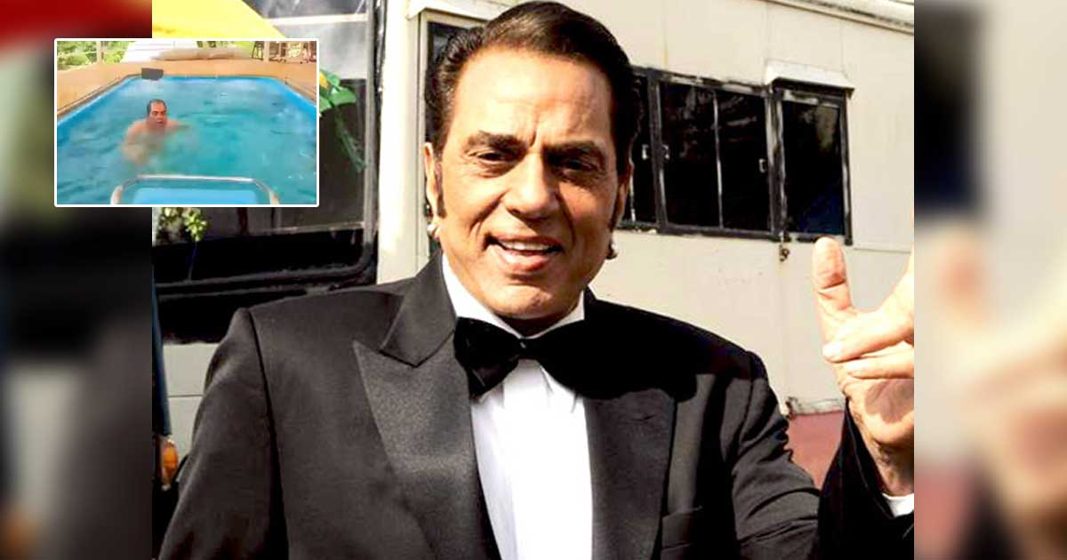 Dharmendra Is Doing Water Aerobics At The Age Of 85, What's Your Excuse? Read On