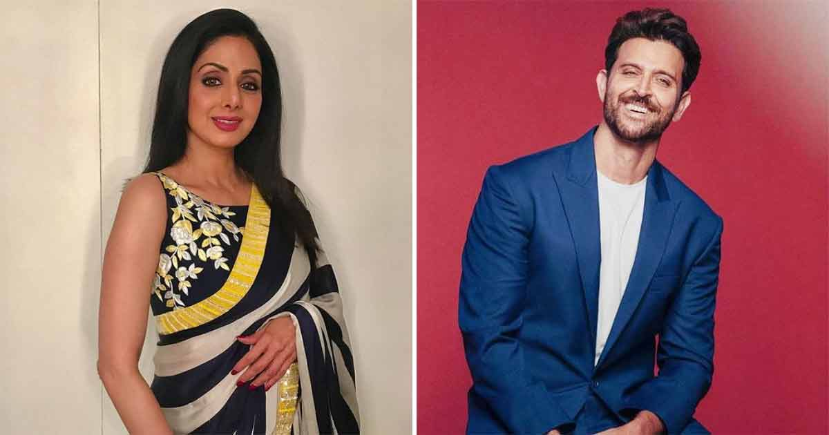 When Hrithik Roshan Revealed How Sridevi Pretended To Be Nervous To Boost His Confidence