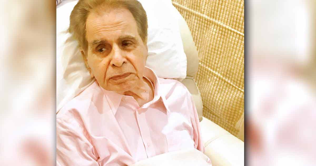Dilip Kumar Hospitalised For The Second Time After Complaining Of Breathlessness