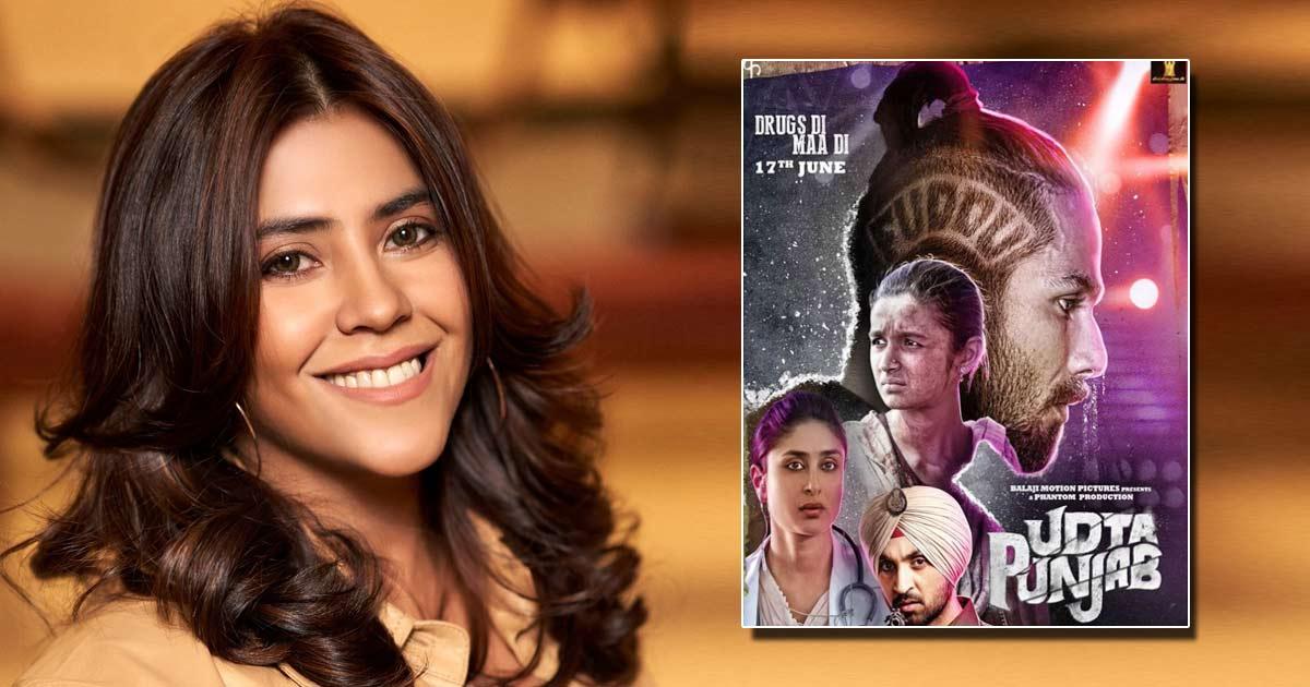 Ekta Kapoor Was Termed 'Poster Girl Of Misfortune' After Udta Punjab Leaked Online!