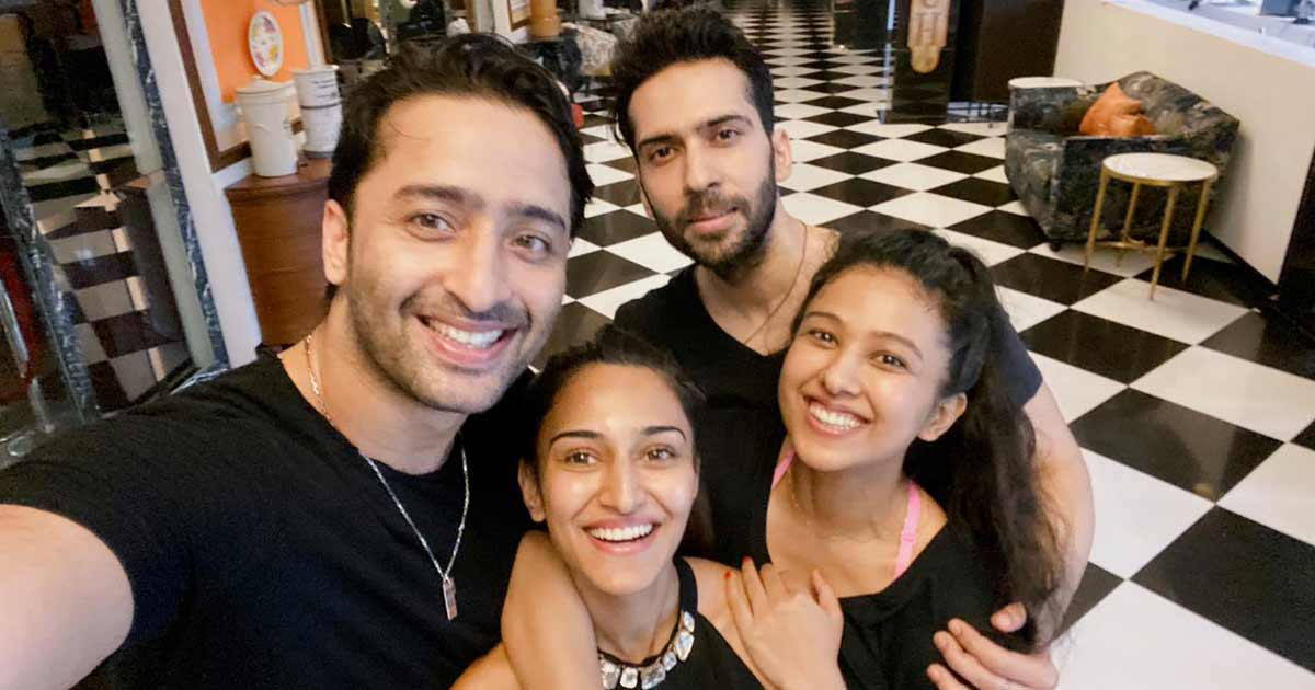 Erica Fernandes With Shaheer Sheikh & Others