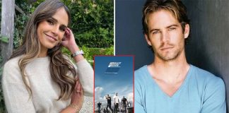 Fast And Furious actor Jordana Brewster shares how her late co-star Paul Walker helped her with a terrifying stunt scene in the 2011 blockbuster Fast Five