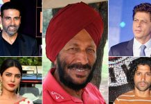 From Farhan Akhtar To Shah Rukh Khan, Akshay Kumar & Others, Bollywood Stars Take To Social Media To Mourn Milkha Singh