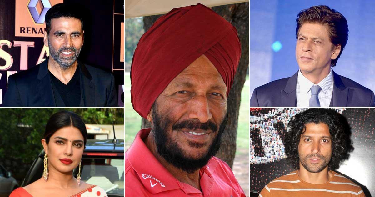 Milkha Singh flies to the sky!  Farhan Akhtar, Akshay Kumar, Shah Rukh Khan and other stars celebrate the legendary sprinter