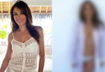 Gossip Girl Actress Elizabeth Hurley Goes Topless In Her Latest Post