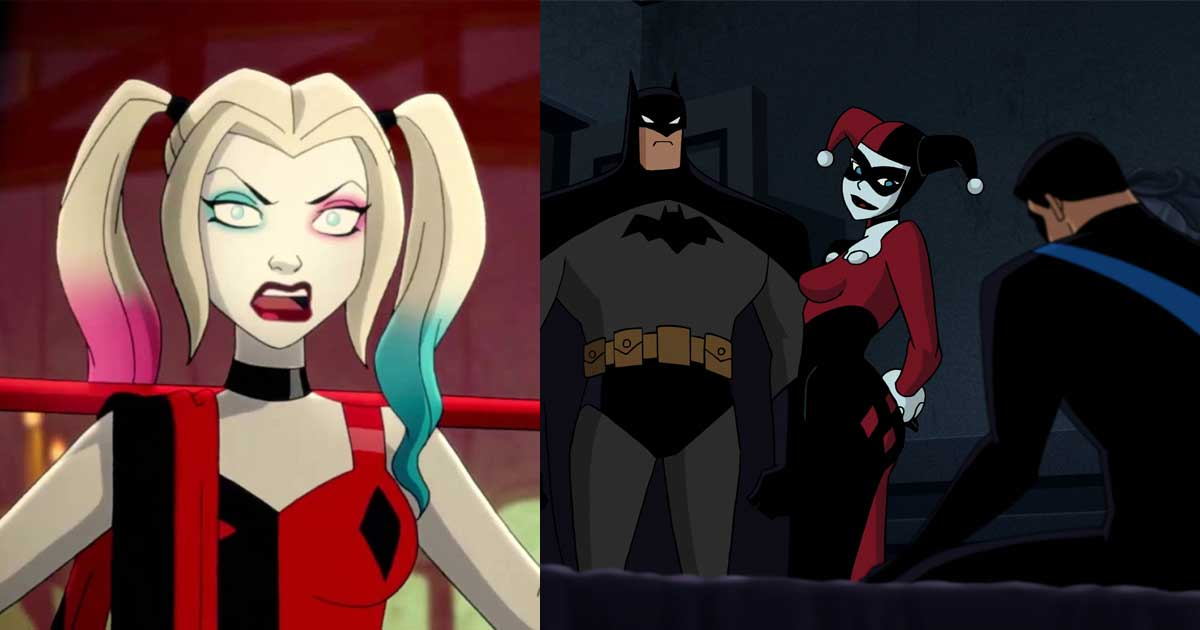 DC Censors Oral S * x Scene Between Batman and Catwoman in the Harley Quinn Series