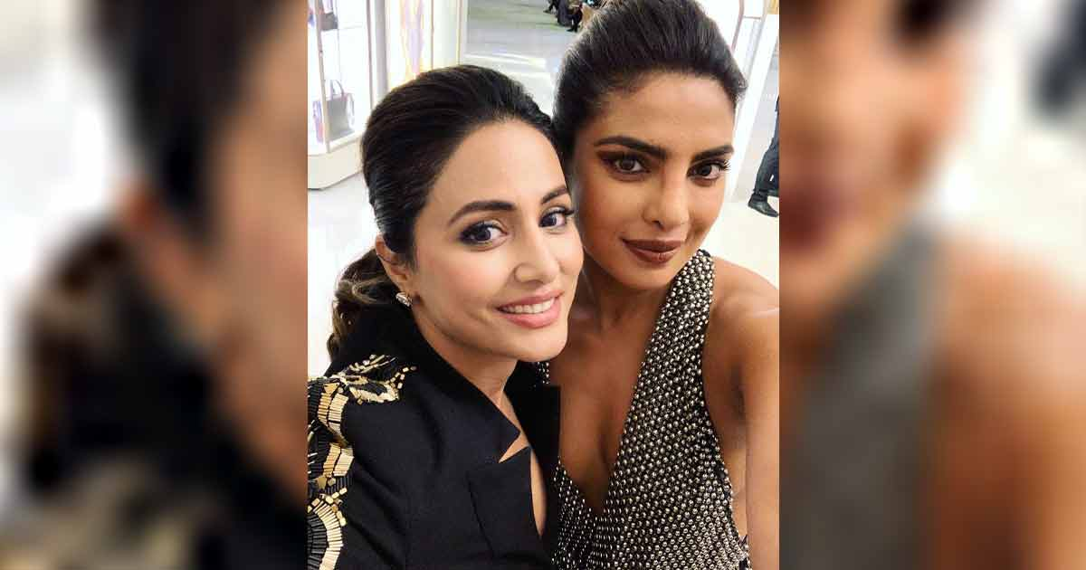 Hina Khan Talks About Being Nervous Before Meeting Priyanka Chopra Jonas