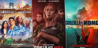 In the Heights & A Quiet Place Part II Box Office Updates