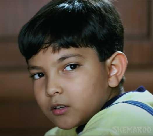 Aditya Narayan Childhood Pic