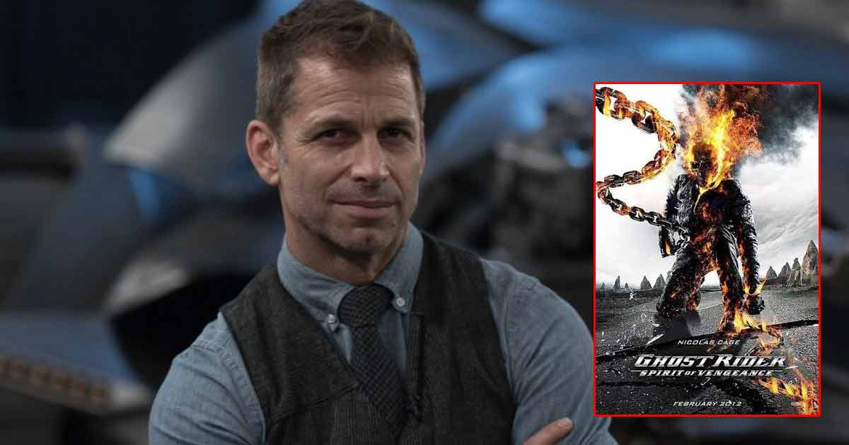 Zack Snyder Opens Up On Ghost Rider Reboot Rumours