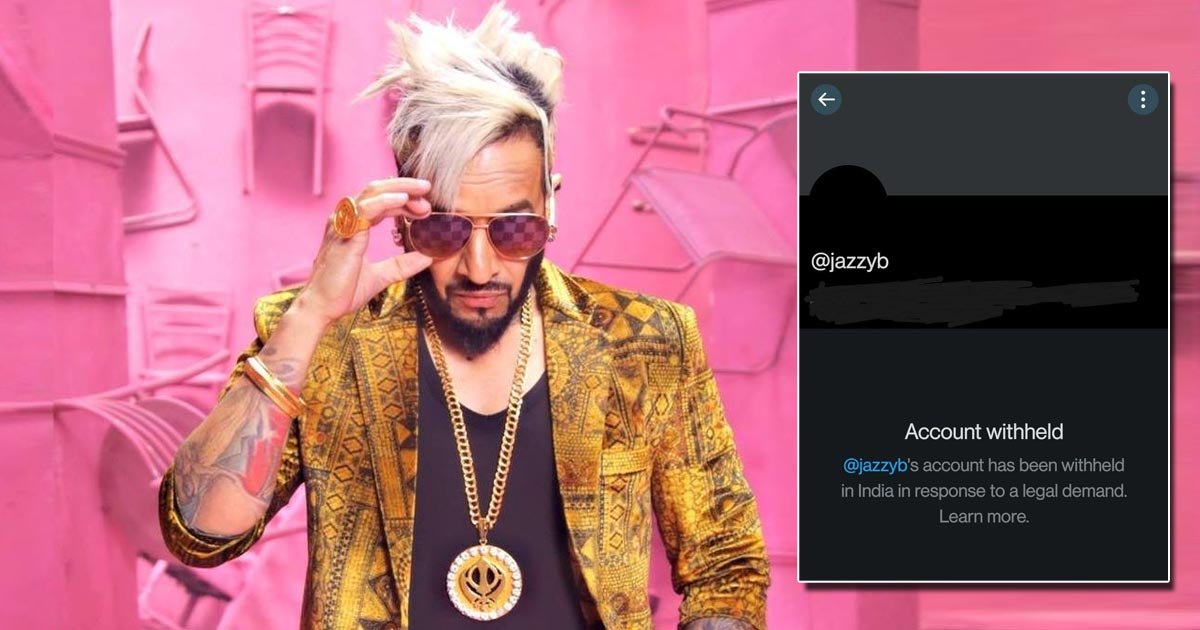 Jazzy B Blocked By Twitter India Over His Tweets Supporting Farmers' Protest? Here's All You Need To Know