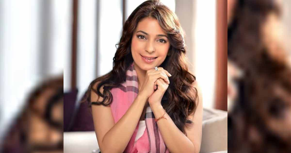 Juhi Chawla Wears A T-shirt With Slogan 'Show Me The Data' Amid The '5G Controversy'