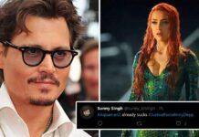 #JusticeForJohnnyDepp Trends As Amber Heard Starts Shooting For Aquaman 2; Johnny Depp Fans Demand Her Removal