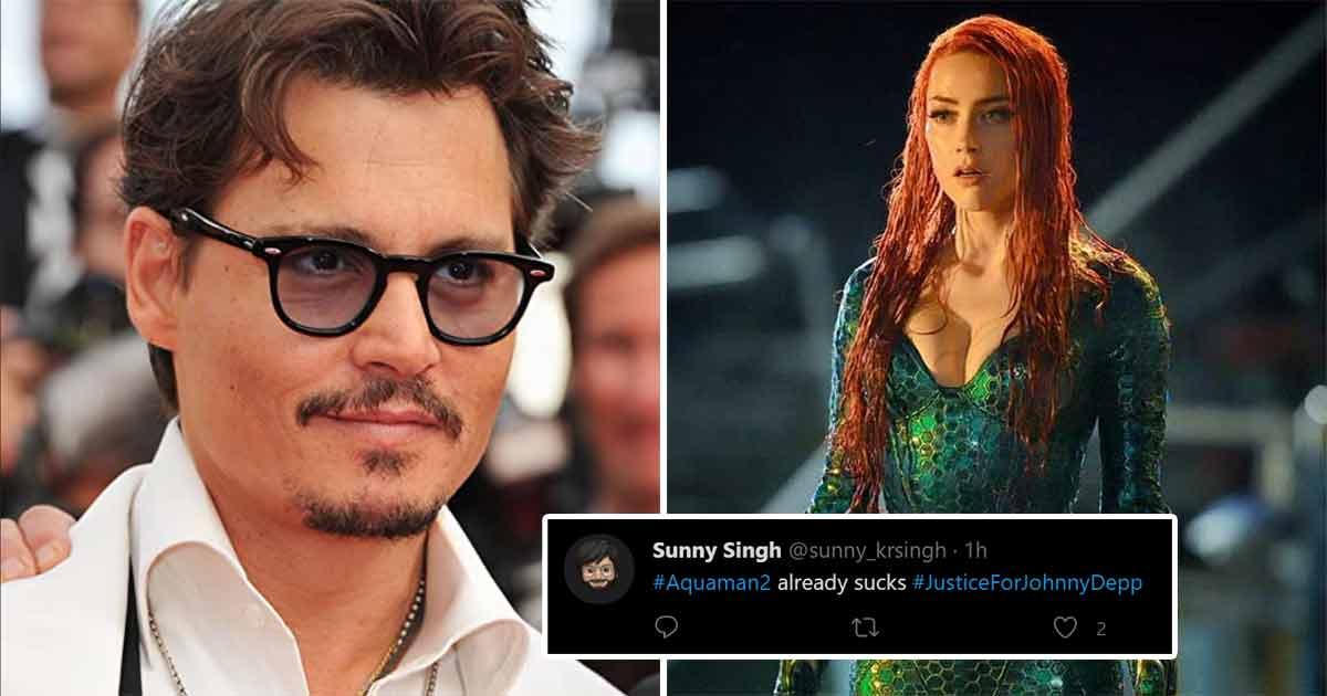 Johnny Depp Fans Trend #JusticeForJohnnyDepp As Amber Heard Starts Shooting For Aquaman 2