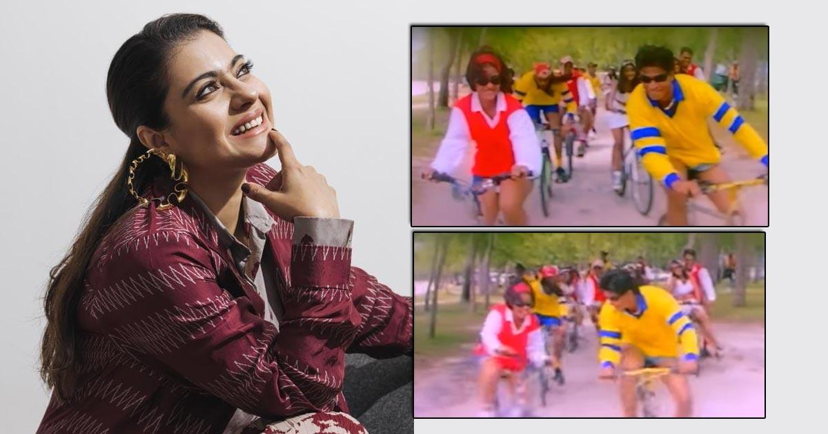 Kajol Celebrates Bicycle Day With Funny Scene From 'Kuch Kuch Hota Hai'