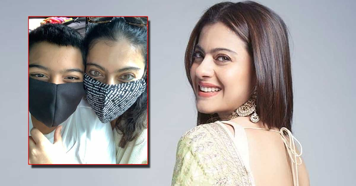 Kajol Shares A Masked Pic With Son Yug But The Caption Grabs The Limelight, Read On