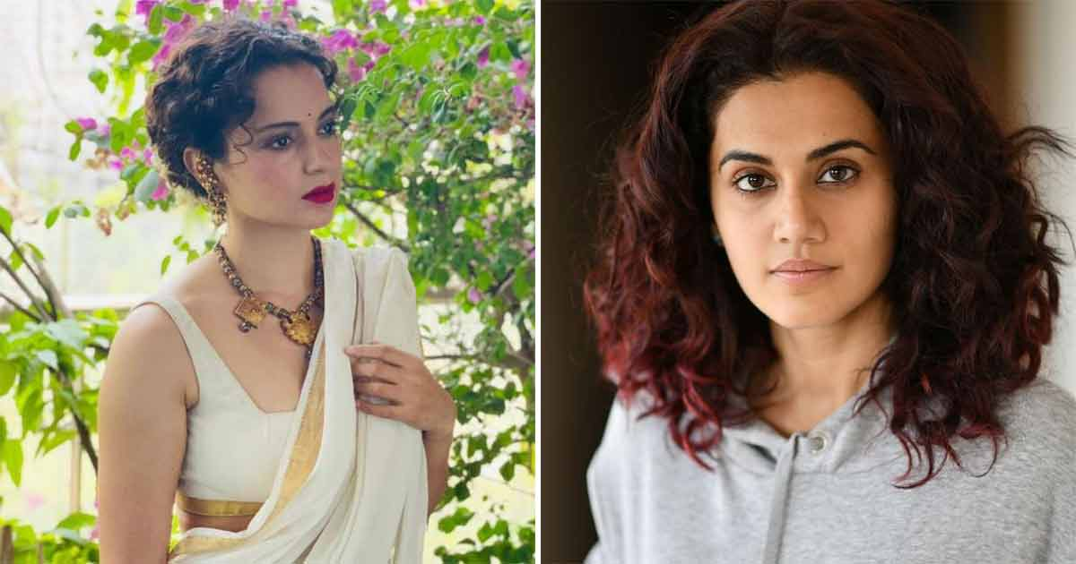 Kangana Ranaut Reacts To Taapsee Pannu Calling Her Irrelevant