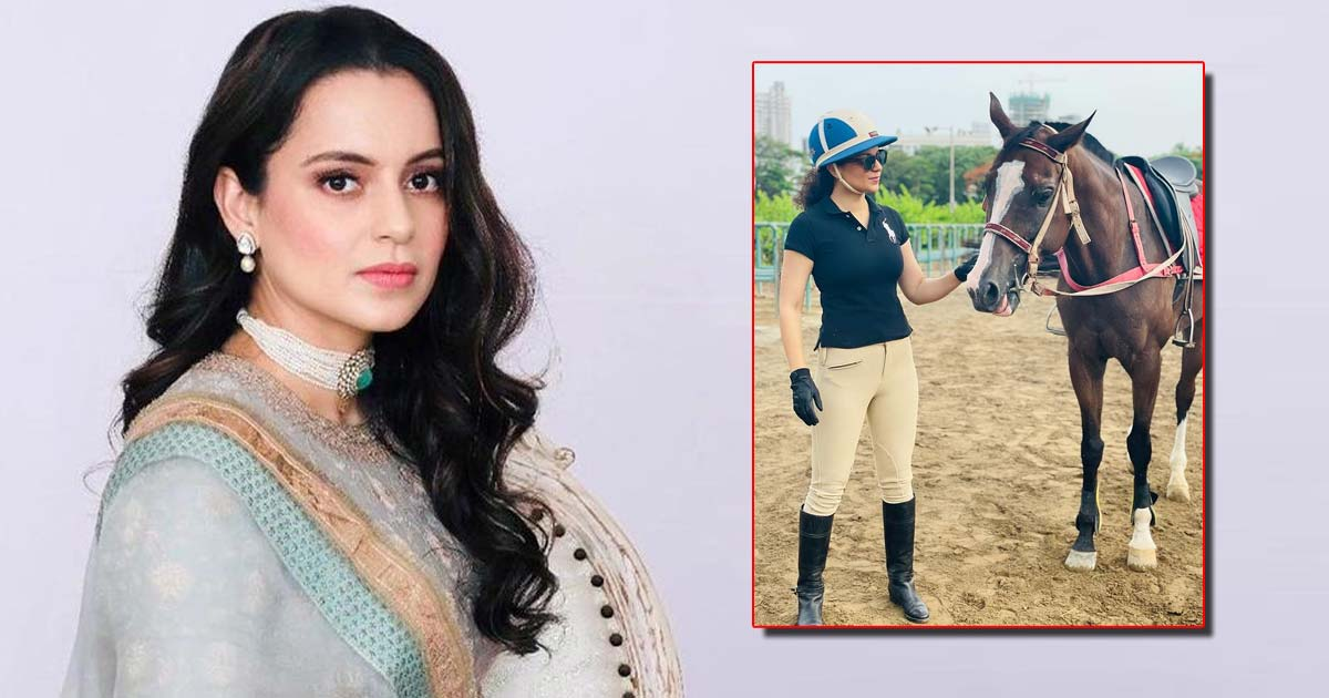 Kangana Ranaut Spends Her Morning With Her 'Lovely Lightening' – See Pic