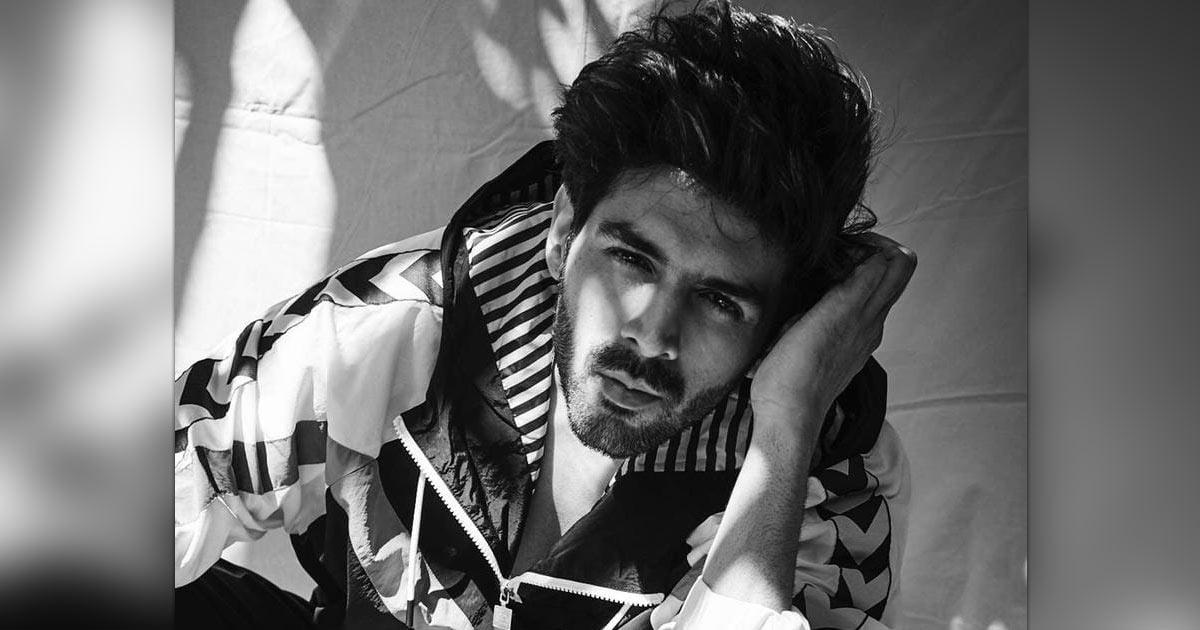Kartik Aaryan spreads black and white magic in new post
