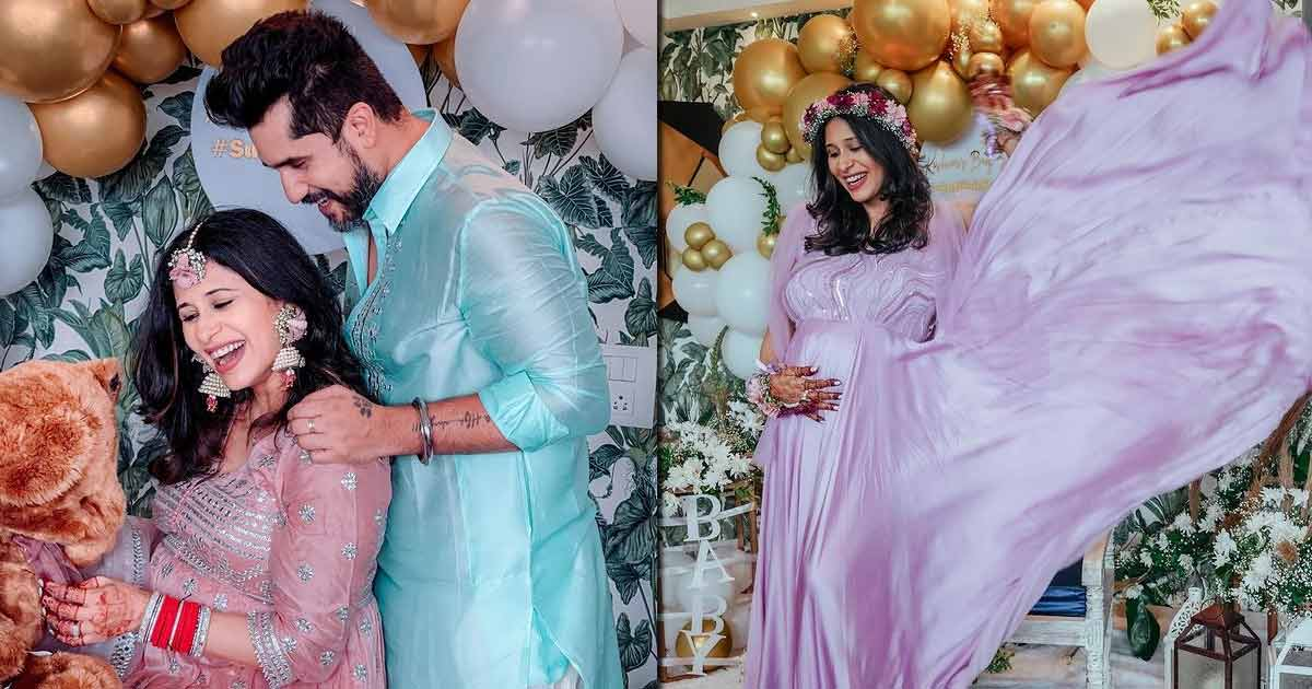 Kishwer Merchantt Dons A Pretty Purple Gown In Her Baby Shower Pictures, Check Out!