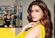 Kriti Sanon reveals a gym secret: 'Instagram v/s Reality'